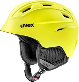 UVEX Fierce Helm gelb mat