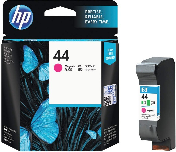 HP Printhead with ink Nr 44 magenta (51644ME)