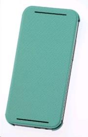 HTC HC-V941 Flip Case für One (M8) grün