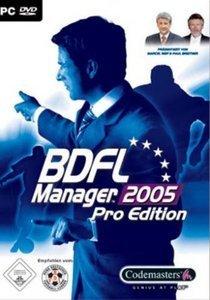BDFL Fußball Manager 2005 (deutsch) (PC)