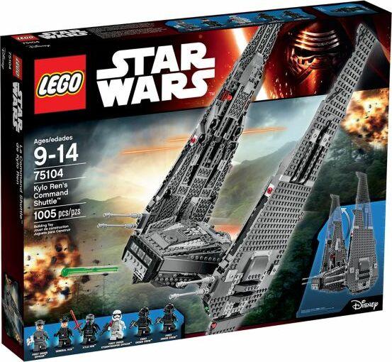 LEGO Star Wars Episode VII - Kylo Rens Command Shuttle (75104)