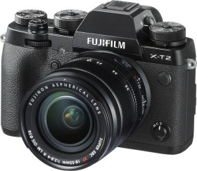 Fujifilm X-T2 schwarz mit Objektiv XF 18-55mm 2.8-4.0 R LM OIS