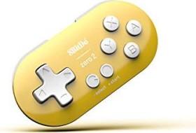 8BitDo Zero 2 Gamepad gelb/weiß (Android/Mac/PC/Switch) (RET00221)