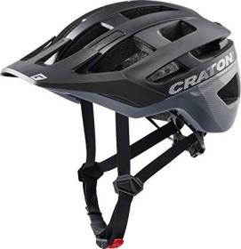 Cratoni AllRace Helm black/grey matt