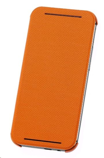 HTC HC-V941 Flip Case für One (M8) orange