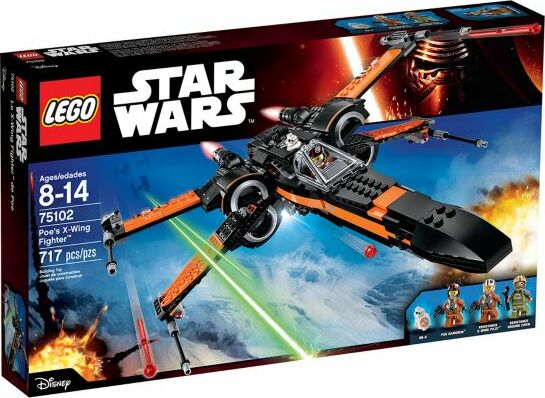 LEGO Star Wars Episode VII - Poes X-Wing Fighter (75102)