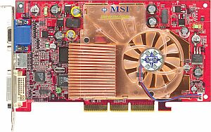 MSI MS-8894 G4Ti4200-TD8X, GeForce4 Ti4200 8X, 128MB DDR, DVI, TV-out, AGP
