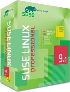 SuSE: Linux 9.1 Professional (deutsch) (PC) (662644454238)