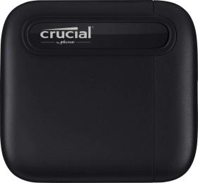 Crucial X6 portable SSD 4TB, USB-C 3.0 (CT4000X6SSD9/CT4000X6SSD9SE)