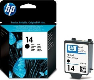 HP 14 Tinte schwarz (C5011DE)