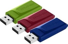 Verbatim Store 'n' Go Slider 16GB, USB-A 2.0, 3er-Pack (49326)