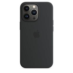 Apple Silikon Case mit MagSafe für iPhone 13 Pro Mitternacht (MM2K3ZM/A)