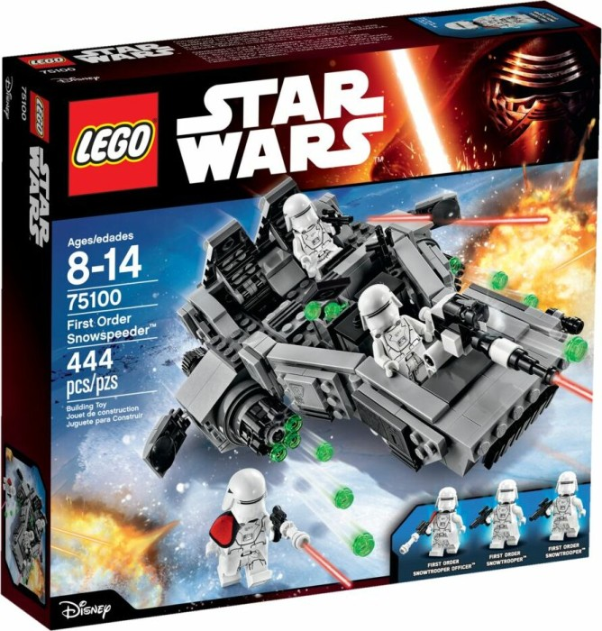 LEGO Star Wars Episode VII - First Order Snowspeeder (75100)