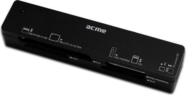 ACME CR03 Multi-Slot-Cardreader, USB-A 2.0 [Stecker] (081664)