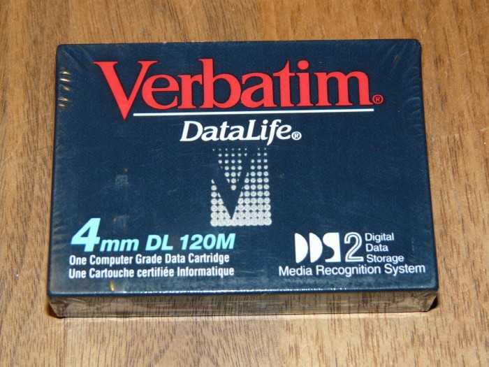 Verbatim DDS-2 DAT-Tape 120m -- via Amazon Partnerprogramm