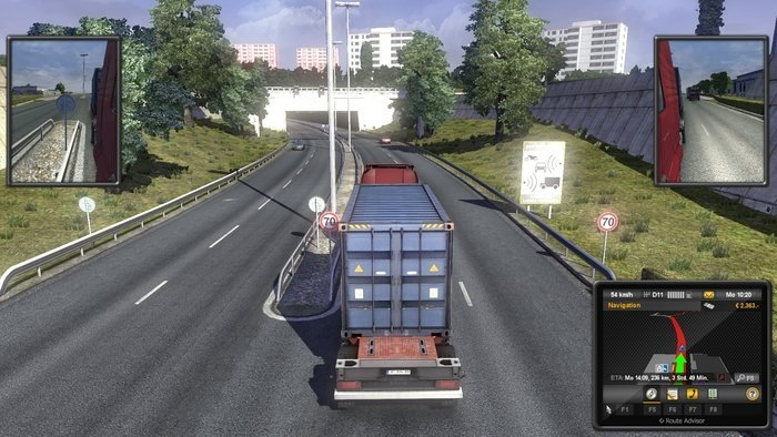 Euro Truck Simulator 2 - Beyond the Baltic Sea (Download) (Add-on