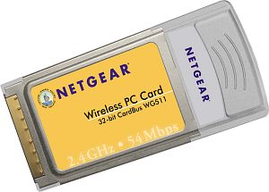 Netgear WG511, Cardbus