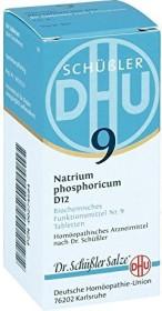 DHU Schüßler Salz Nr. 9 D12 Tabletten, 80 Stück