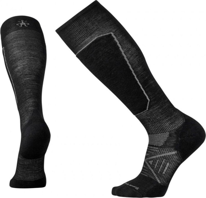 c6768312ddd Smartwool Phd Ski Light elite ski socks black (men) (SW015030-001 ...