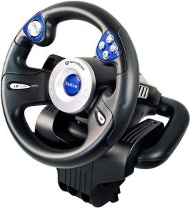 Saitek RX600 Wireless Wheel (PS2)