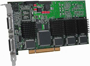 Matrox Millennium G200 MMS Dual, 2x 8MB, 2x LFH60, TV-out, PCI