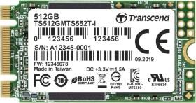 Transcend Industrial MTS552T-I SSD 512GB, M.2 (TS512GMTS552T-I)