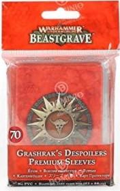 Games Workshop Warhammer Underworlds: Beastgrave - Grashraks Vandalen Kartenhüllen