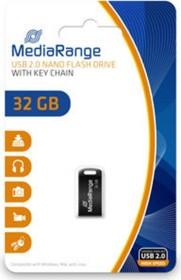 MediaRange USB Mini-Drive 32GB, USB-A 2.0 (MR922)