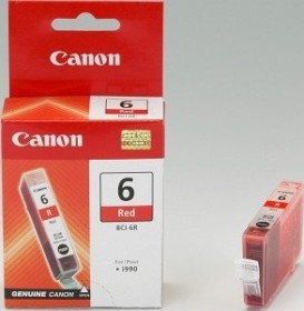 Canon Tinte BCI-6R rot 3er-Pack