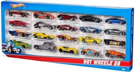 Mattel Hot Wheels 20 Car Pack Serie 1:64 (H7045)