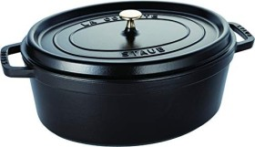 Zwilling Staub Cocotte stew pot oval 37cm black (40509-370-0)