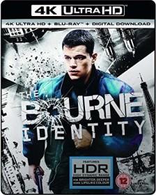 The Bourne Identity (4K Ultra HD) (UK)
