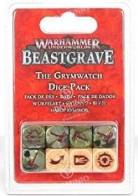 Games Workshop Warhammer Underworlds: Beastgrave - Die Grimwacht Würfelset