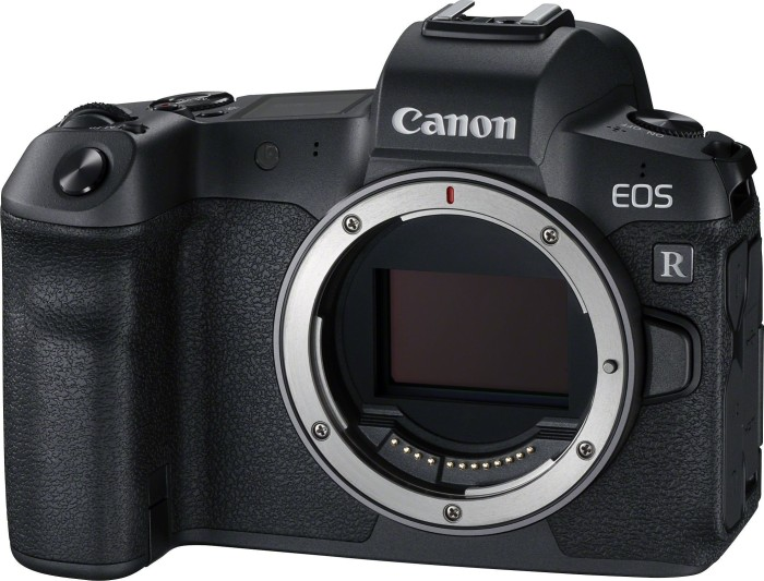 Canon EOS R black with lens adapter EF-EOS R (3075C023)