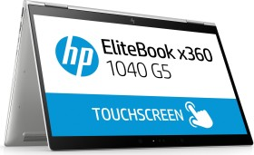 HP EliteBook x360 1040 G5, Core i5-8350U, 8GB RAM, 256GB SSD (5DF59EA#ABD)