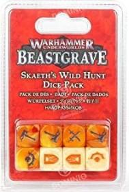 Games Workshop Warhammer Underworlds: Beastgrave - Skaeths Wilde Jagd Würfelset