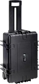 B&W International Outdoor Case Typ 6700 Trolley schwarz mit DJI Phantom 4 Einsatz (6700/B/DJI4)