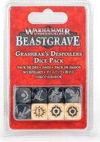 Games Workshop Warhammer Underworlds: Beastgrave - Grashraks Vandalen Würfelset