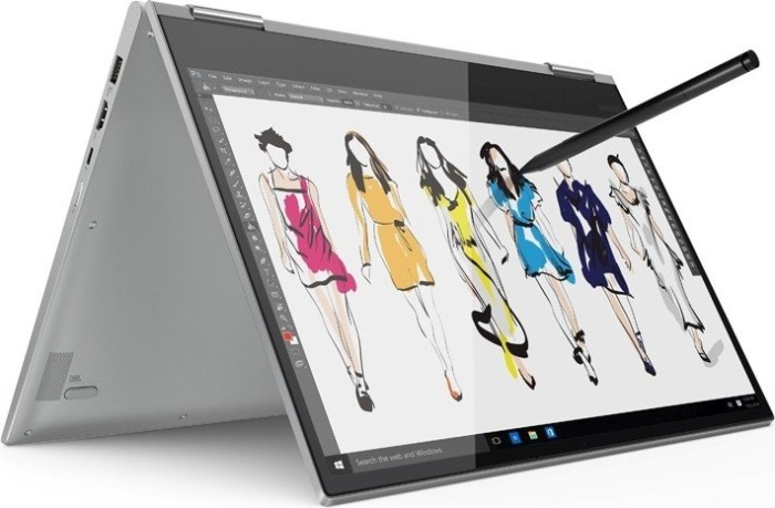 Lenovo Yoga 730-15IWL silver, Core i7-8565U, 16GB RAM, 512GB SSD, GeForce GTX 1050 4GB (81JS0011GE)