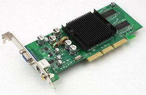 ASUS AGP-V9520 Magic/T64, GeForce 5200, 64MB DDR, TV-out, AGP