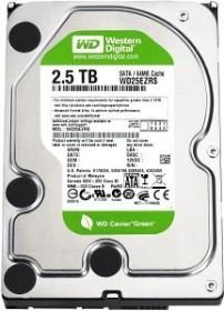 Western Digital WD Caviar Green 2.5TB, SATA 3Gb/s (WD25EZRSDTL)