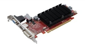 Club 3D Radeon HD 5450 Noiseless Edition,  512MB DDR3 64-Bit, VGA, DVI, HDMI (CGAX-5452LI)