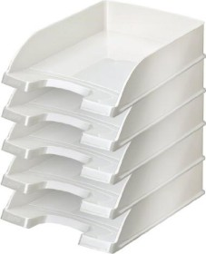 Leitz WOW Briefkorb A4, weiß (52263001)