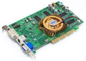 ASUS AGP-V9520/TD, GeForce 5200, 128MB DDR, DVI, TV-out, AGP