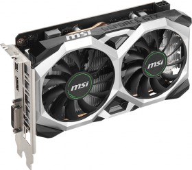 MSI GeForce GTX 1650 D6 Ventus XS OCV2, 4GB GDDR6, DVI, HDMI, DP (V809-3655R)