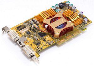ASUS AGP-V9520/VS VideoSuite, GeForce 5200, 128MB DDR, 2x DVI, ViVo, AGP