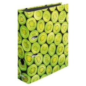 herlitz Motivordner maX.file Kiwi DIN A4 8cm breit Designordner grün Obst Frucht
