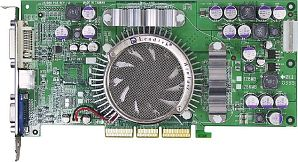 Leadtek WinFast A360Ultra TDH, GeForceFX 5700 Ultra, 128MB DDR2, DVI, TV-out, AGP