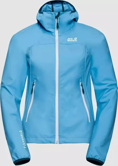 Jack Wolfskin Eagle Peak Softshell Jacke misty blue (Damen) (1306701 1093) ab € 84,95
