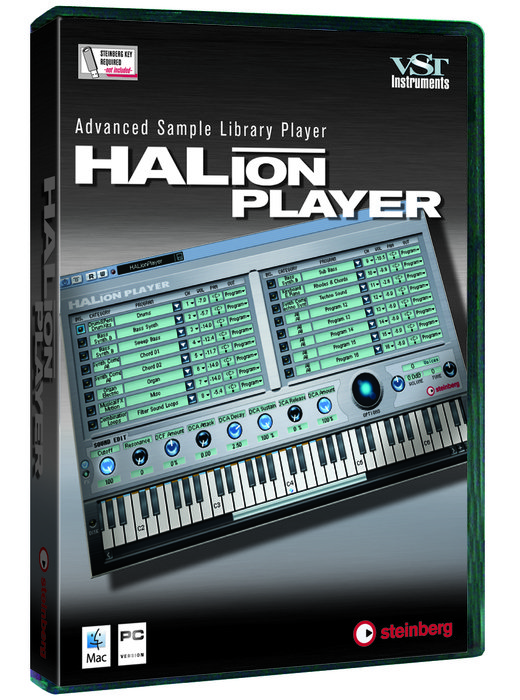 Steinberg: HALion player (English) (PC/MAC) (502016720)